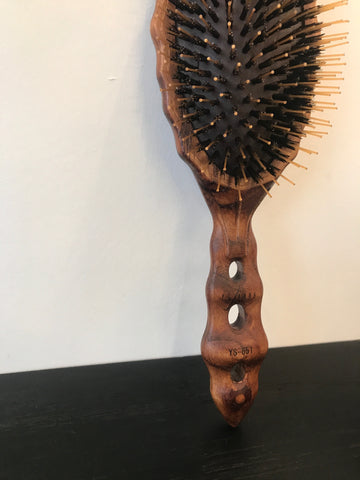 Wooden Oval Hair Brush