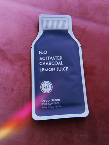 Deep Detox Pore Control Raw Juice Mask