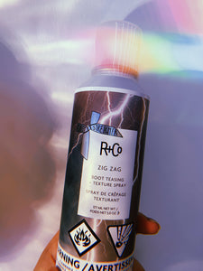 Zig-Zag Root Teasing and Texture Spray