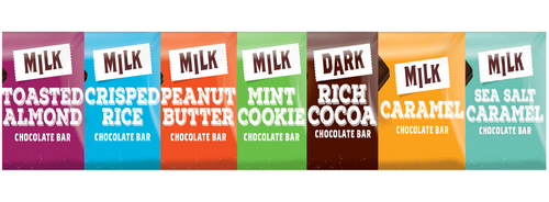 Fundraising Chocolate bars variety pack