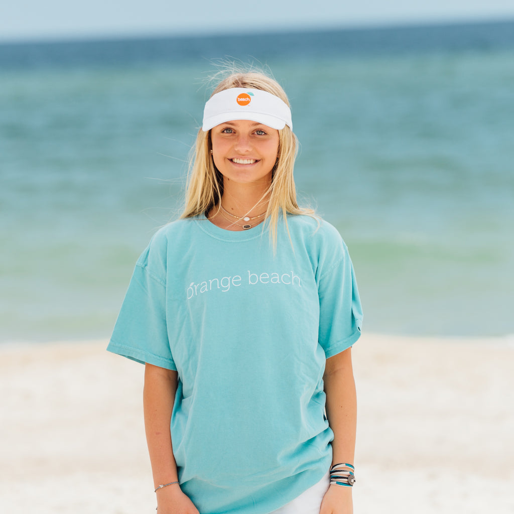 Short Sleeve Classic Orange Beach T-shirts