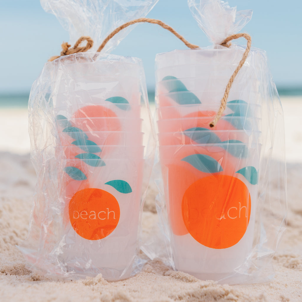 Orange Beach frost flex cups