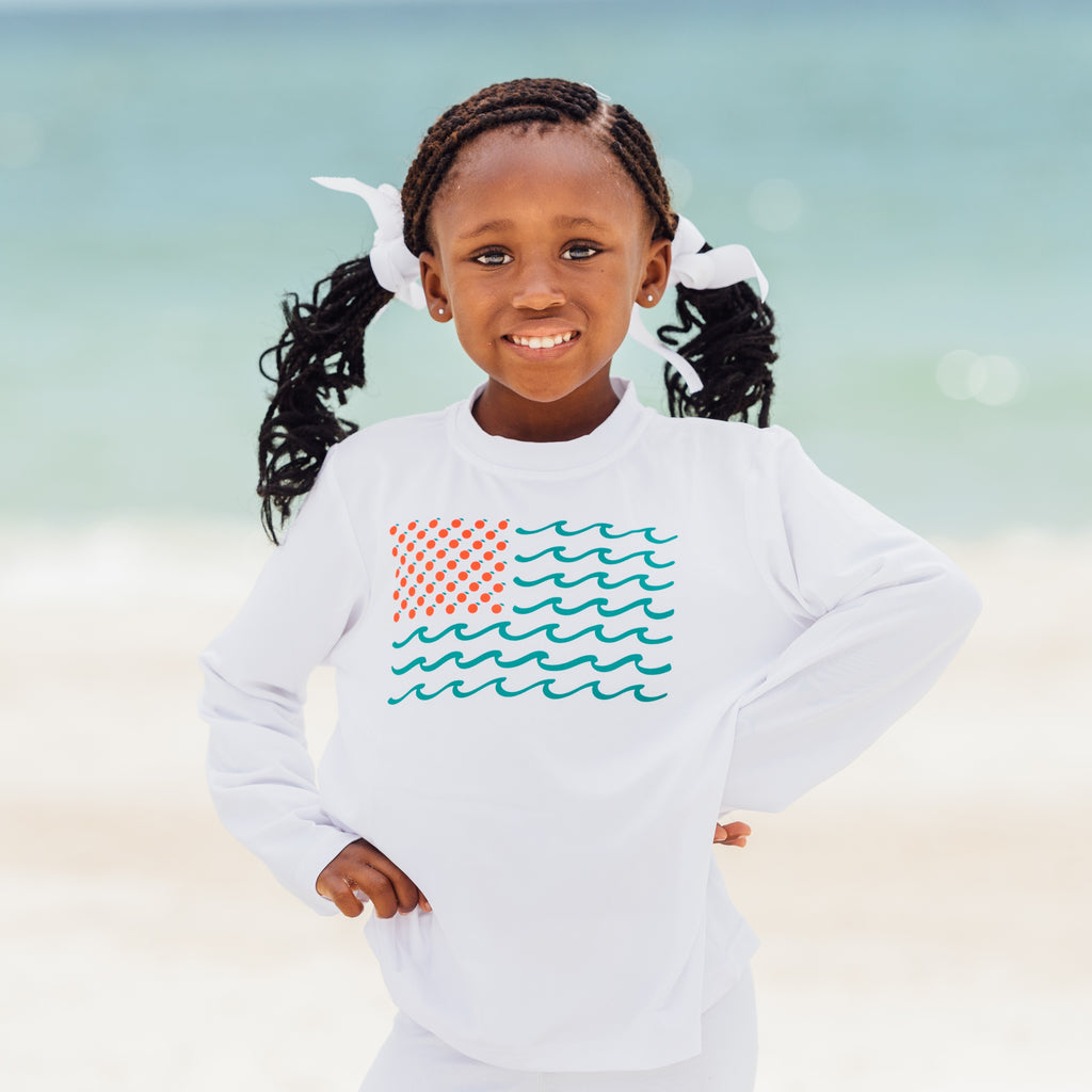 Toddler Long Sleeve Sun Shirts