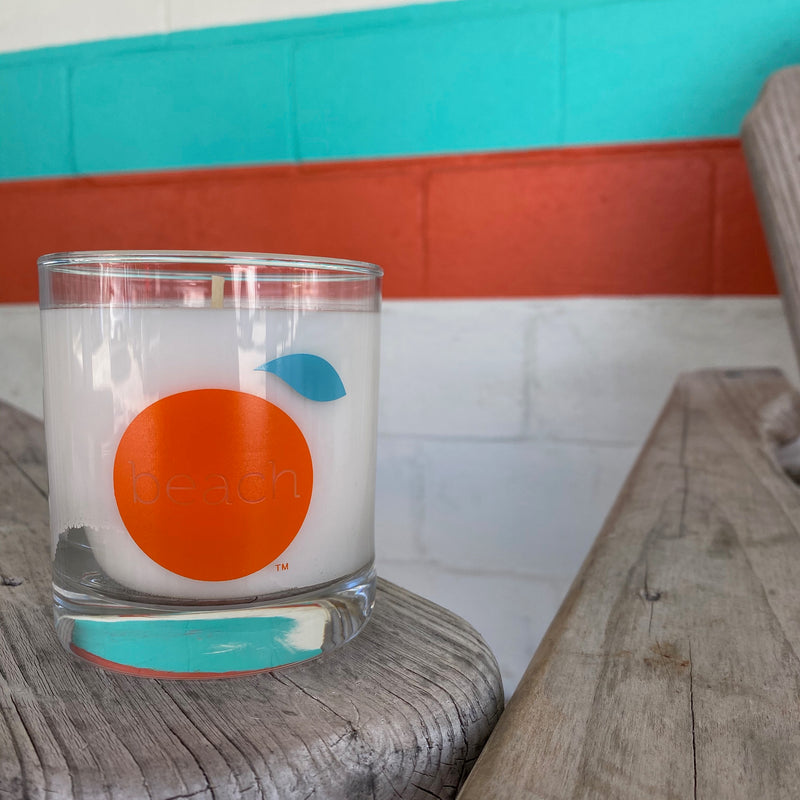 Orange Beach Candle