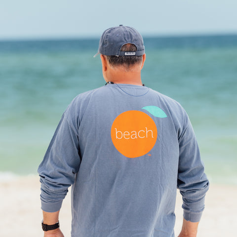 Short Sleeve Local Orange Beach T-shirt