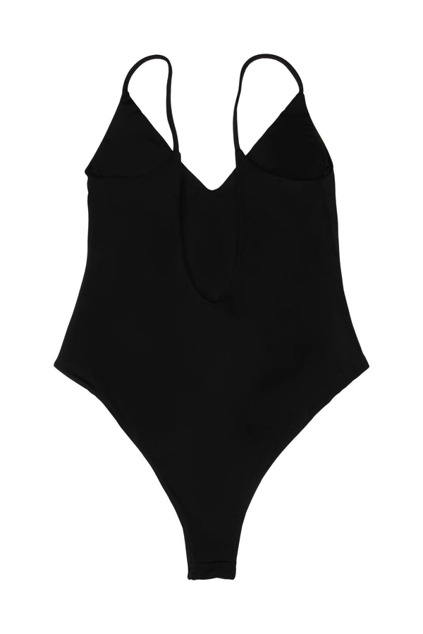 Gili one-piece V-neckline - Nero