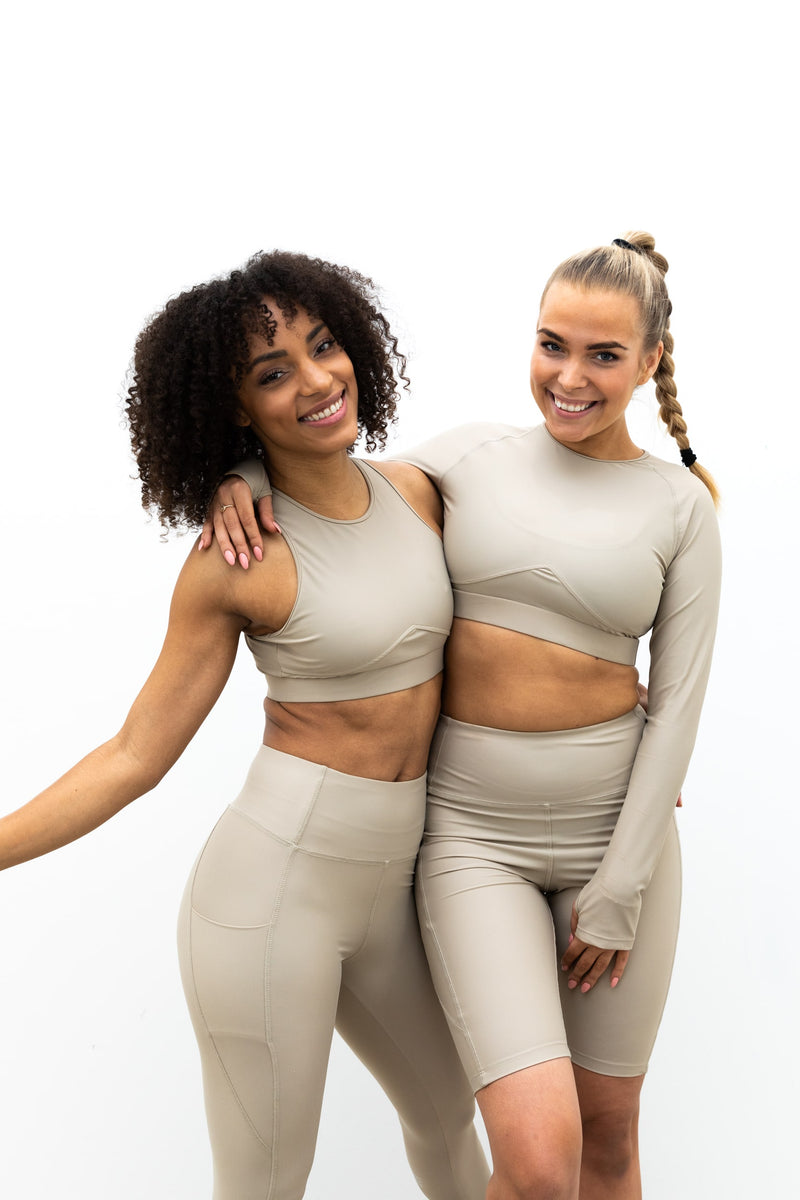 Breath performance top - Sand