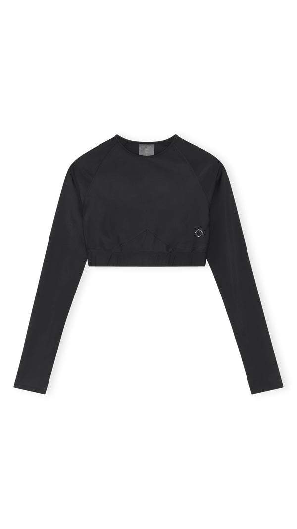 Flow long sleeve top - Nero