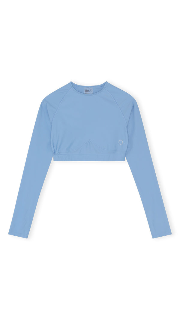 Flow long sleeve top - Sky