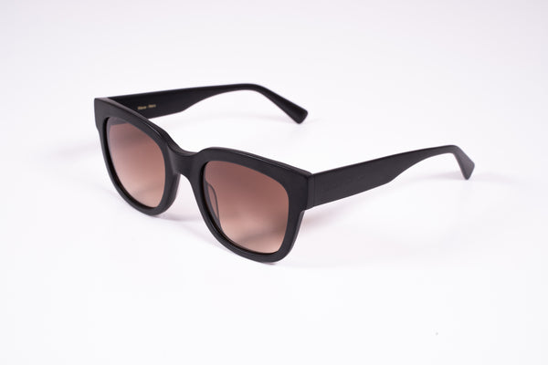 Unisex Wave bio-acetate sunnies - Nero