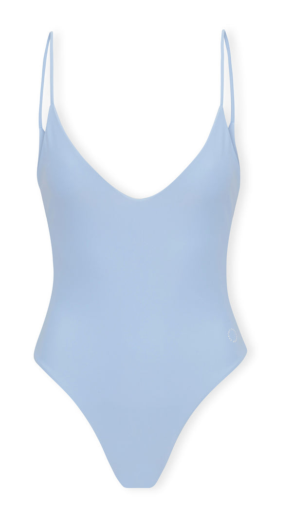 Gili one-piece V-neckline - Clear