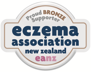 We are proud bronze supporter of eczema association New zealand