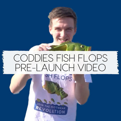 Coddies Fish Flops Pre-launch Video