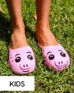 Coddies Pig Trotters | Kids Clogs, Sandals, Slides, Slippers, Beach, Shower, Toddler Water Shoes for Girls