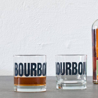 Bourbon Rocks Glass