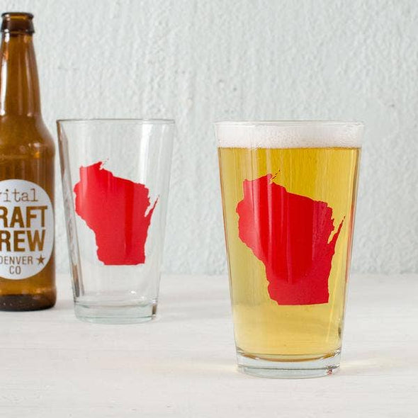 Wisconsin Pint Glass