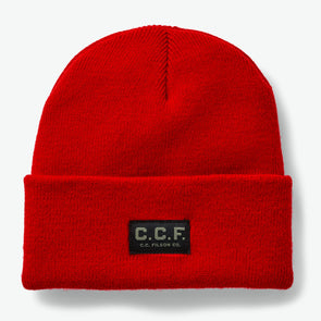 C.C.F. Watch Cap in Red