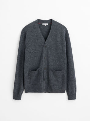 Extrafine Merino Wool Cardigan - JOURNEYMAN CO.