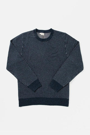 Bridge & Burn Cyrus Sweater in Navy Heather