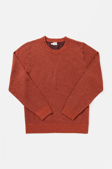Bridge & Burn Cyrus Sweater in Rust Heather