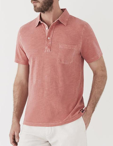 Sunwashed Polo - JOURNEYMAN CO.