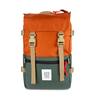 Topo Designs Rover Pack in Clay/Forest