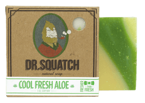 Dr. Squatch Homemade Soap Cool Fresh Aloe