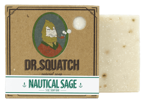 Dr. Squatch Handmade Soap Nautical Sage