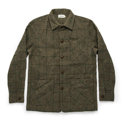 The Ojai Jacket in Waxed Wool