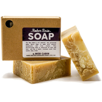Mod Cabin Amber Resin Soap