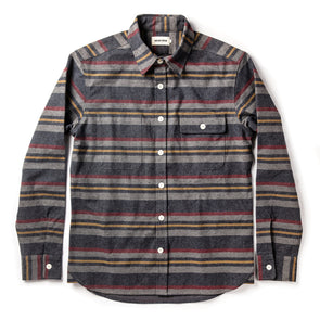 Taylor Stitch Moto Shirt in Blanket Stripe