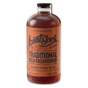 Bootblack Traditional Old Fashioned Cocktail Syrup