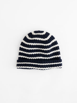 Alex Mill Striped Cashmere Beanie