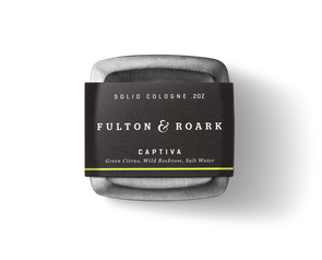 Fulton & Roark Captiva Solid Cologne - JOURNEYMAN CO.