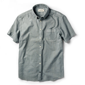 Dusk Oxford SS Shirt - JOURNEYMAN CO.