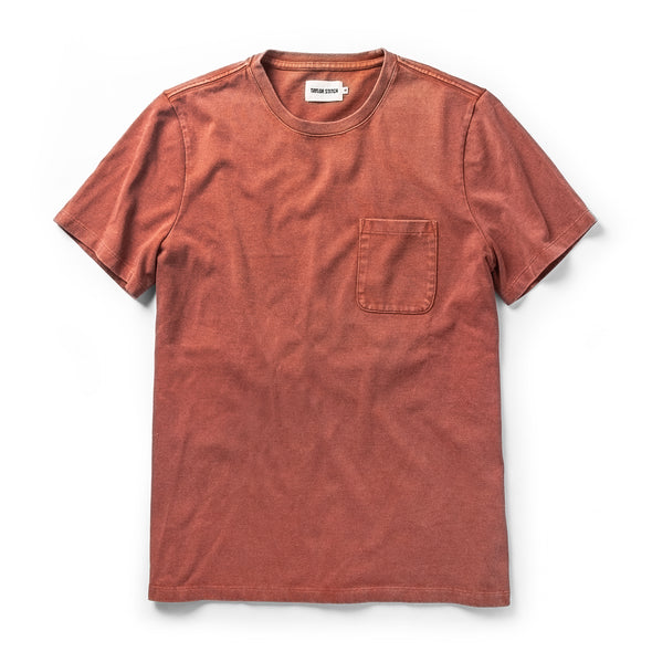 Heavy Bag SS T-Shirt Dusty Clay - JOURNEYMAN CO.