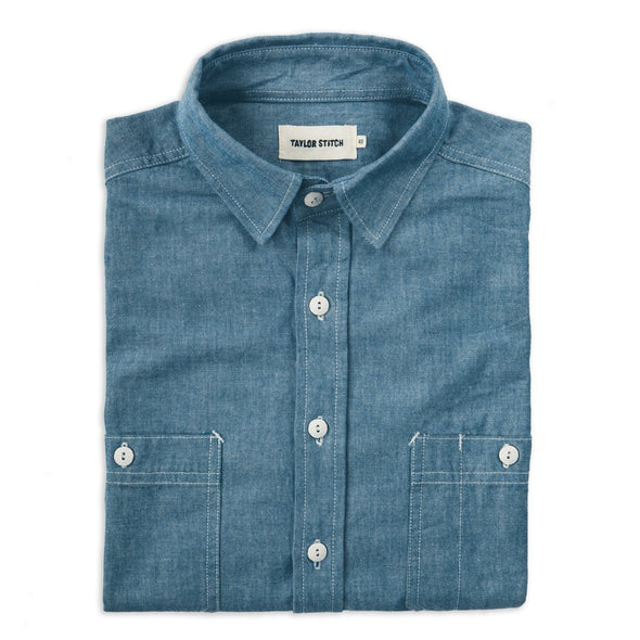 Everyday Chambray Shirt - JOURNEYMAN CO.