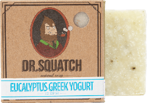 Dr. Squatch Handmade Soap Eucalyptus Greek Yogurt