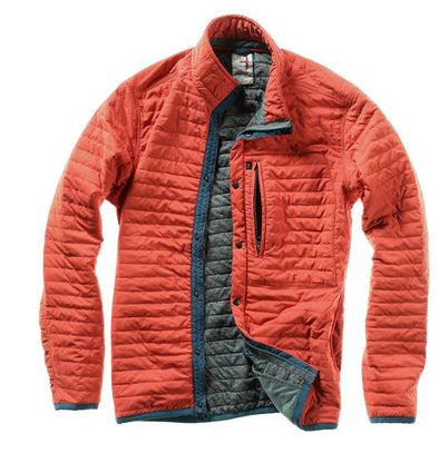 Windzip Jacket in DK Orange