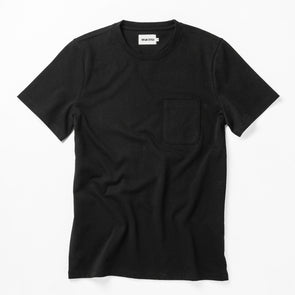 Heavy Bag SS T-Shirt Black - JOURNEYMAN CO.