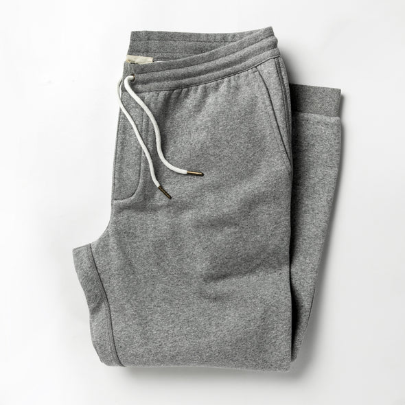 Taylor Stitch Heavy Bag Pant in Heather Grey