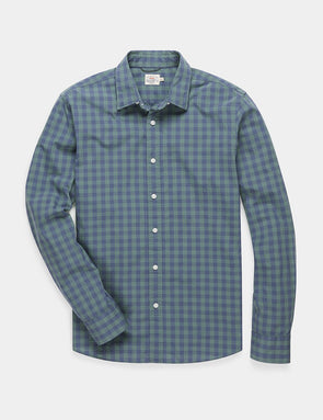 The Movement Shirt in Forest Gingham