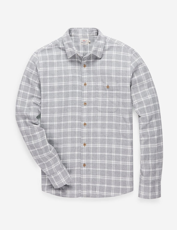 Faherty Seaview Flannel Shirt in Maverick Plaid