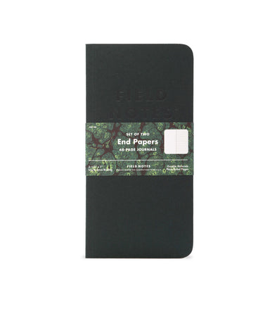 Field Notes End Papers Notebook