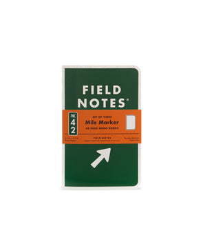 Field Notes Mile Marker Limited Edition 3-Pack - JOURNEYMAN CO.