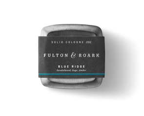 Fulton & Roark Blue Ridge Solid Cologne - JOURNEYMAN CO.