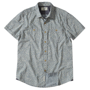 Drayton Printed Chambray SS Shirt