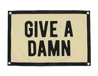 Give a Damn Camp Flag - JOURNEYMAN CO.