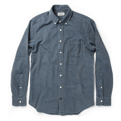 Roped Indigo LS Shirt - JOURNEYMAN CO.