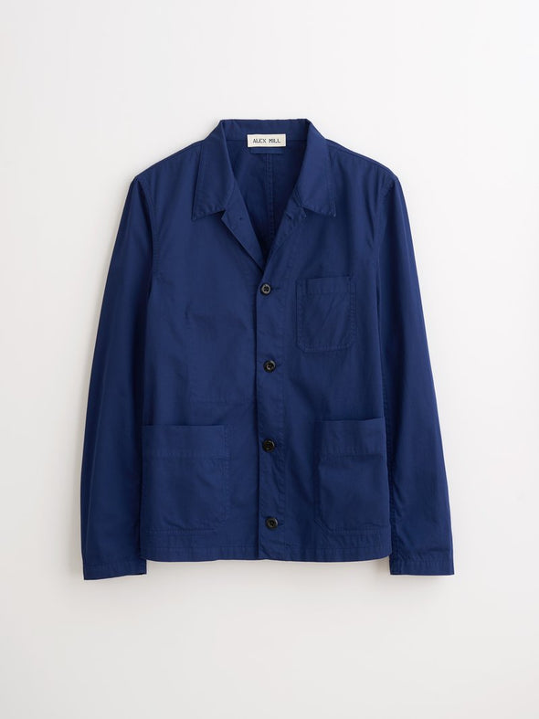 Garmet Dyed Work Jacket Navy - JOURNEYMAN CO.